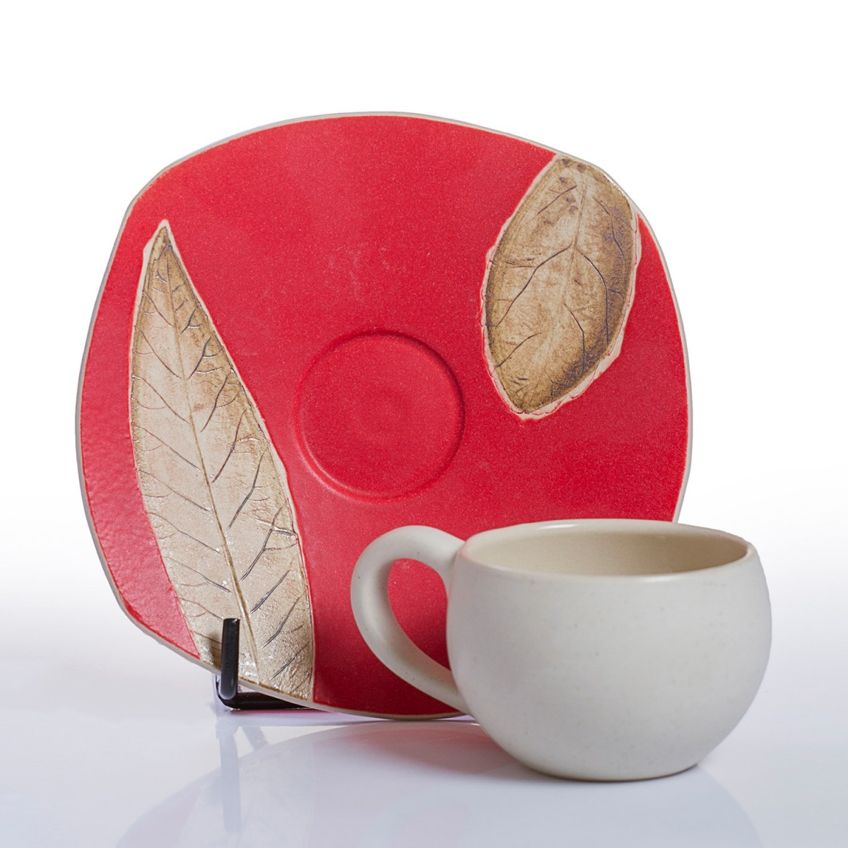 Espresso coffee cups set - Red