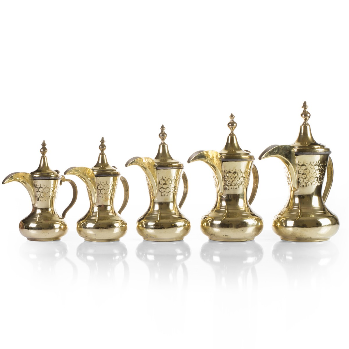 Coffee pots-Set of 5 pieces