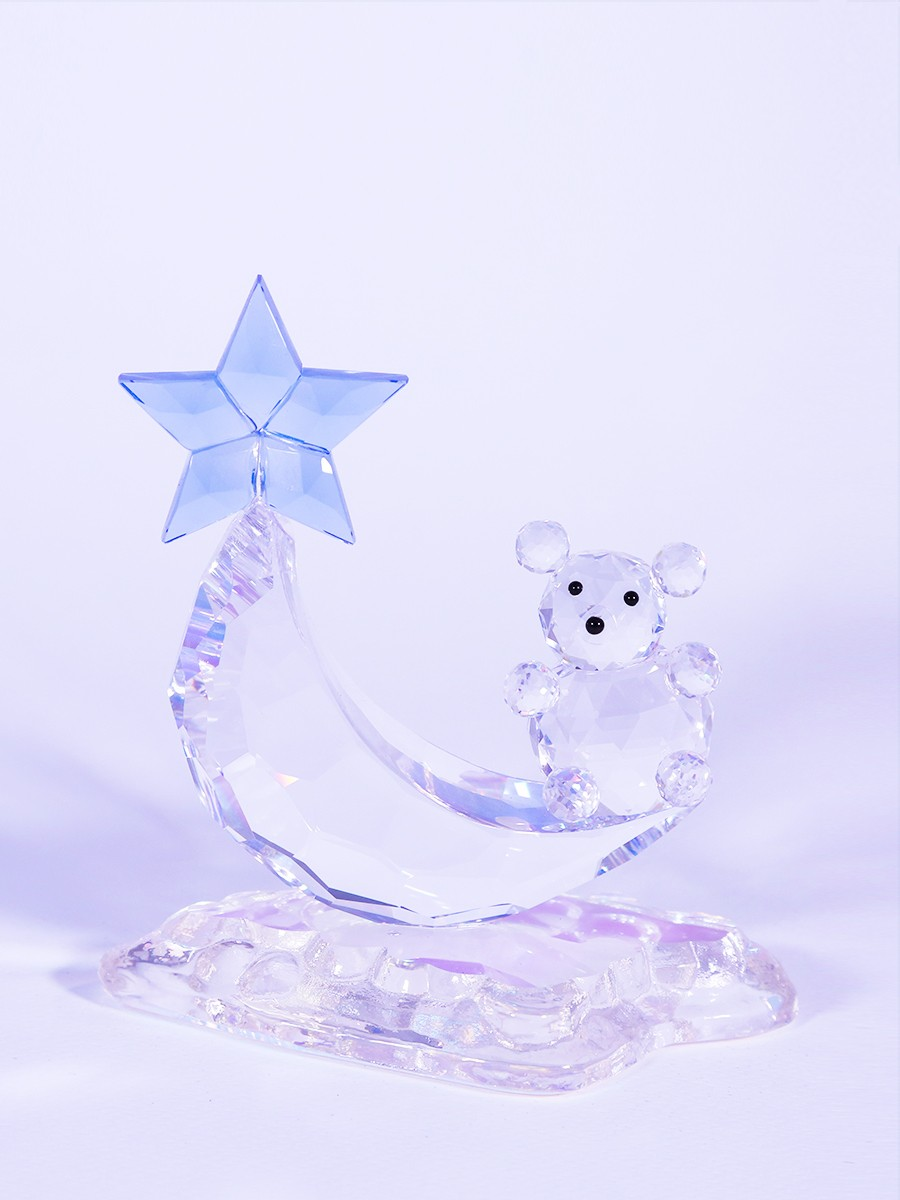 Crystal Bear On The Moon