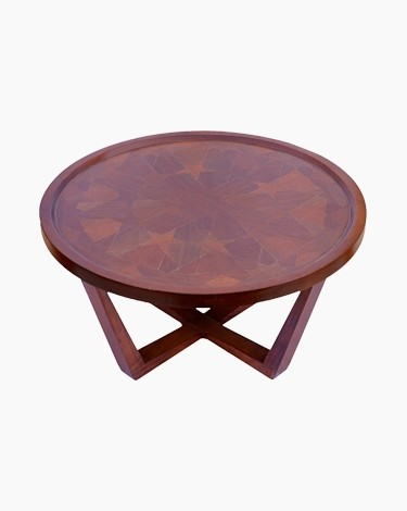 Coco rounded  coffee table