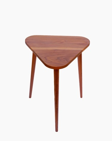 Tena triangle end table