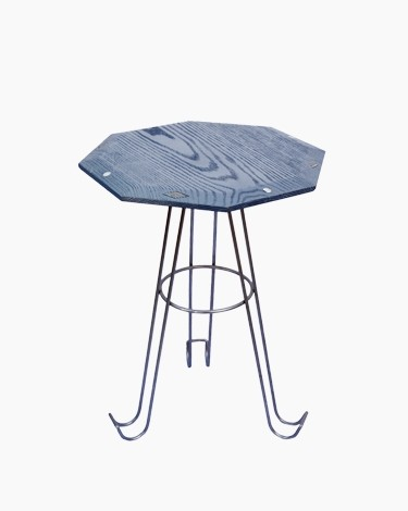 Lilly octagon high side table