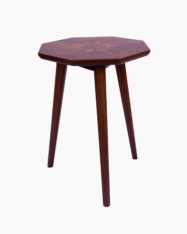 Elsa Octagon end table