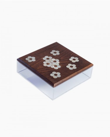 Dates sweets box - brown