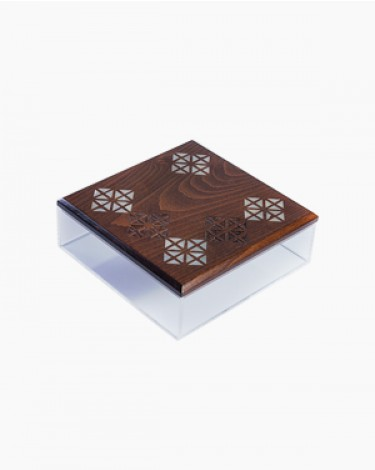Dates sweets box - square