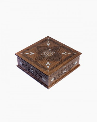 Luxury handmade box - brown