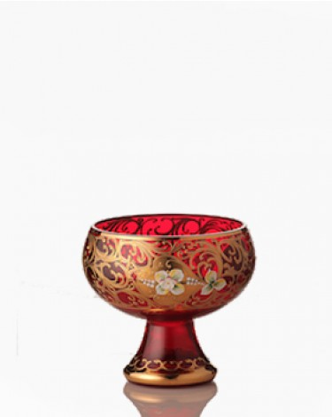 Bohemia Crystal Red Bowl