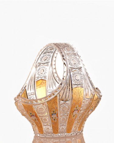 Bohemia Crystal Hand-cut basket