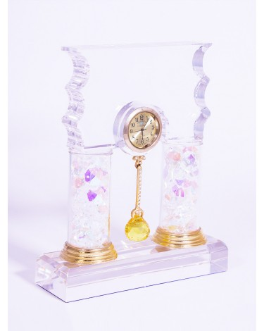 Crystal Pendulum Clock