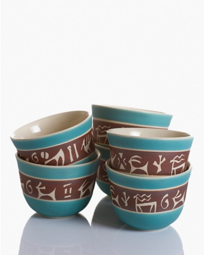 Arabic Coffee Cup - Classical Animals