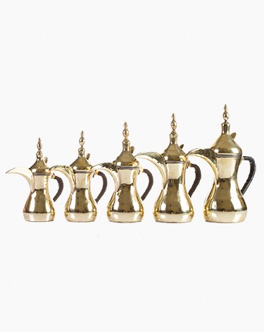 Coffee pots-Set of 4 pieces