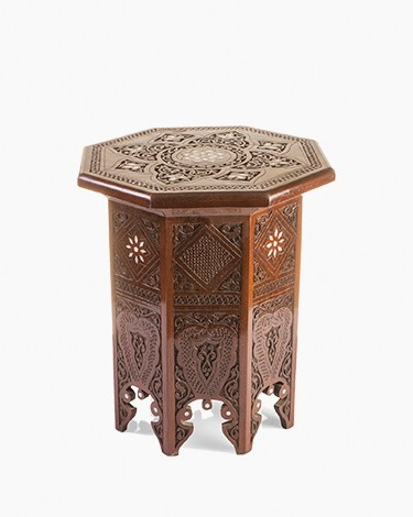 Morrocan Damascene side table