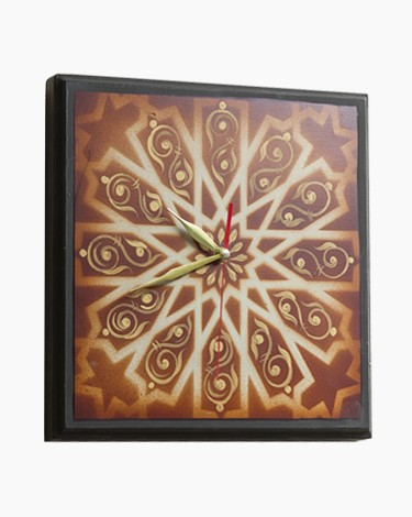 Ornamented Wall Clock