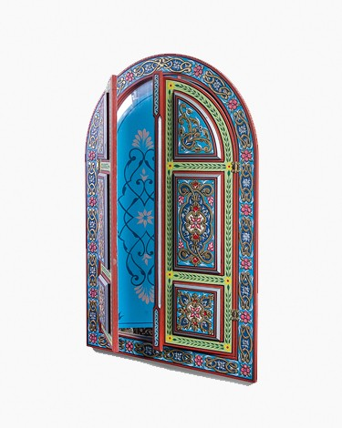 Luxury vintage damascene door