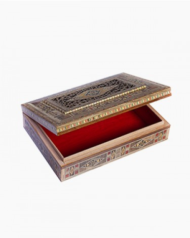 Luxury handmade jewelry box