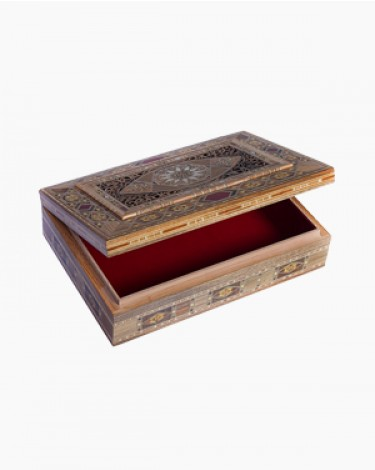 Luxury handmade jewelry box - large