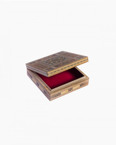 Luxury handmade jewelry box - medium