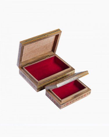Set of two luxury handmade boxes